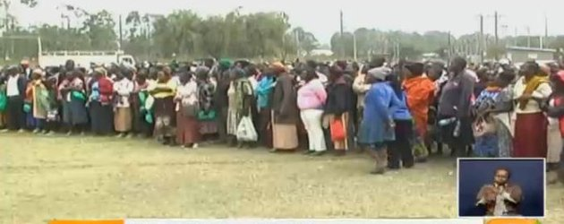 Ex-Karuturi flower farm workers yet to get pay
