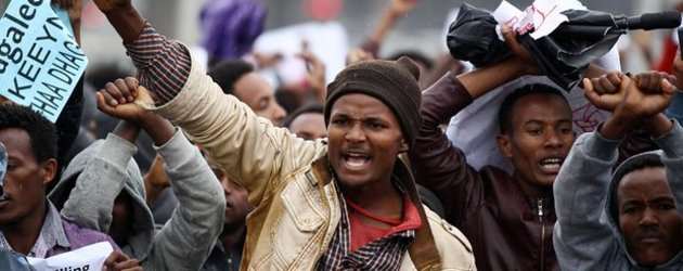 Dozens shot dead in anti-government protests across Ethiopia says opposition