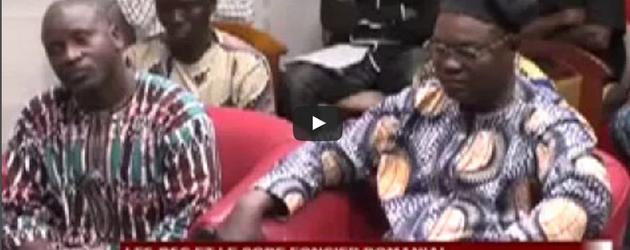 Sortie médiatique de l'Alliance code foncier au Bénin