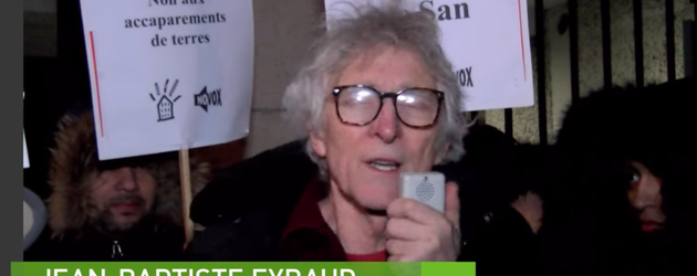 Des Parisiens contre la confiscation de terres agricoles au Mali