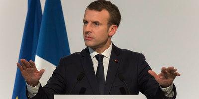 Emmanuel Macron annonce des