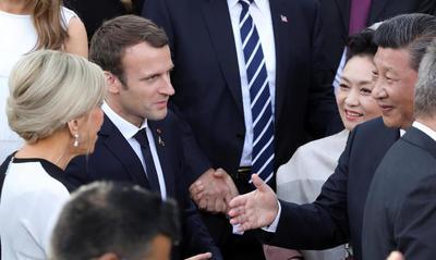 Emmanuel Macron ne barrera pas la route aux investisseurs chinois