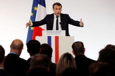 Macron busca conciliação com agricultores antes de grande feira em Paris