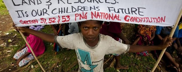 PNG land grabbers could potentially face International Criminal Court
