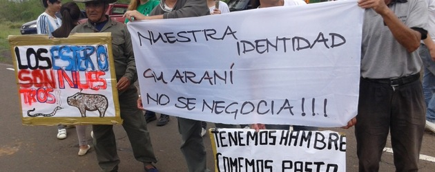 Argentina: Communities protest foreign land grabs in Iberá