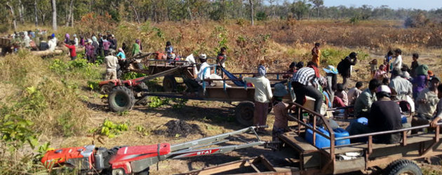 Cambodian villagers block Chinese developer from clearing grazing land