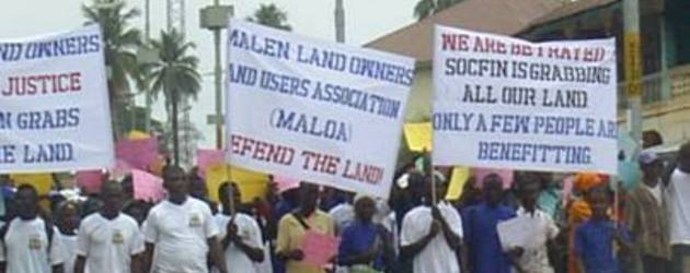 Civil society organisations express unflinching support for jailed land rights activists, condemn unfair land deals in Pujehun District