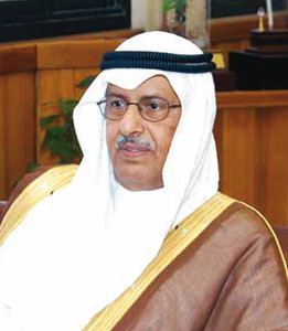 Saudi Minister of Agriculture Fahad Abdul-Rahman Balghunaim