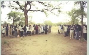 Camp de réfugiés Anuak au Soudan du Sud